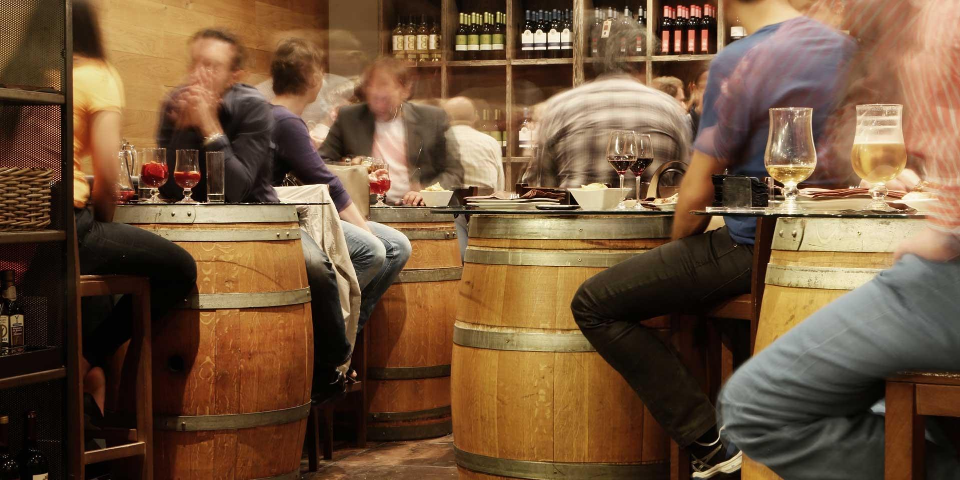 Dégustation de vins et spiritueux